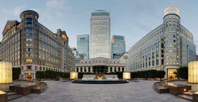 Bank Rothschild in London mit super Feng Shui