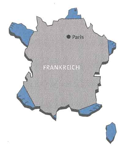 Land-Form Frankreich