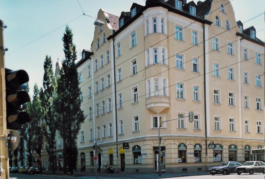 Eckhäuser in München